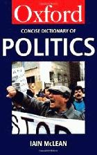 The Concise Oxford dictionary of Politics /